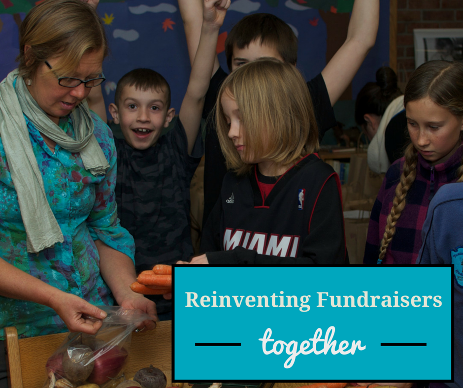Together we can reinvent fundraising!